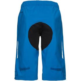 VAUDE Moab Rain Shorts Men radiate blue